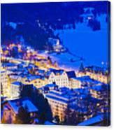 St. Moritz Canvas Print