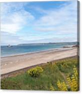 St Ouen's Bay Jersey Canvas Print
