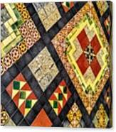 St. Patrick's Cathedral Mosaic Floors Canvas Print
