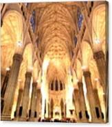 St. Patricks Cathedral Canvas Print