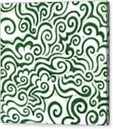 St Patrick's Day Abstract Canvas Print