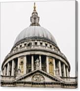 St Paul Cathedral Dome Canvas Print