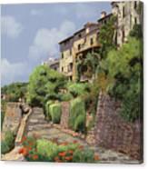 St Paul De Vence Canvas Print