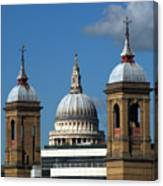 St Pauls An Alternate View Canvas Print
