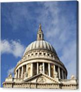 St Pauls Cathedral London England Uk Canvas Print