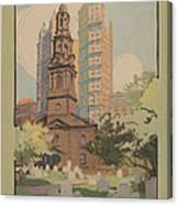 St. Paul's Chapel Canvas Print