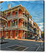 St Peter St New Orleans Canvas Print