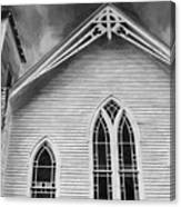 St Peter United Methodist Church-digital Art Canvas Print