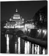 St. Peters At Night Canvas Print
