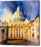 St. Peters Basilica Canvas Print