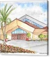 St. Peter's Catholic Church, Jupiter, Florida Canvas Print