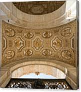 St Peter's Ceiling Detail Canvas Print