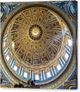 St. Peters Inside The Dome Canvas Print