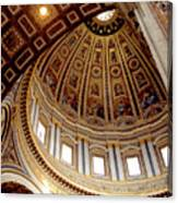 St Peters Looking Up Canvas Print