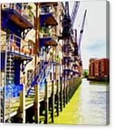 St Saviours Wharf Canvas Print