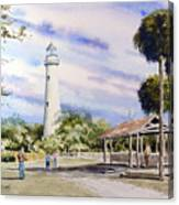 St. Simons Island Lighthouse Canvas Print
