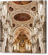 St. Stephen Cathedral Interior Canvas Print