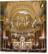 St. Stephen's Basilica Canvas Print