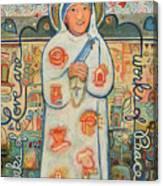 St. Teresa Of Kolkata Canvas Print