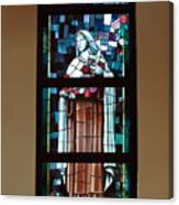 St. Theresa Stained Glass Window Canvas Print