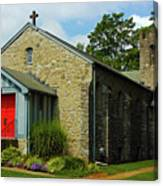St. Timothy's Episcopal Church Canvas Print