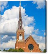 St Wenc On A Bright Summer Day Canvas Print