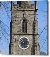 St Wystan's Bell Tower Canvas Print