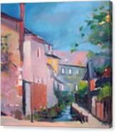 St Yrieux La Perche  Canvas Print