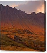 Stac Pollaidh At Sunset Canvas Print