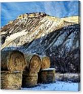 Stacked Mountains  Canvas Print