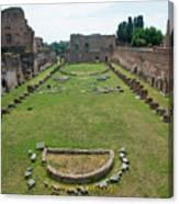 Stadium Of Domitian Canvas Print