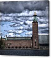 Stadshuset Color II Canvas Print
