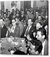 Stag Dinner And Awards Monterey Peninsula Country Club, Pebble Beach 1950 Canvas Print