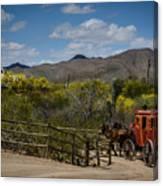 Stagecoach Canvas Print