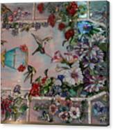 Stain Glass - Bath House - Hot Springs, Ar Canvas Print