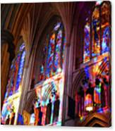 Stain Glass Cathedral Canvas Print