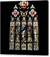 Stained Glass At St. John's Canvas Print