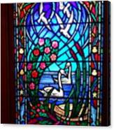Stained Glass Beauty #20 Canvas Print