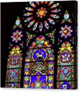 Stained Glass Beauty #46 Canvas Print