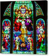 Stained Glass Canvas Print