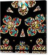 Stained Glass Glory Canvas Print