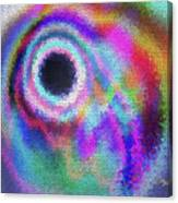Stained Glass Morph #107 Canvas Print