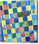 Stained Glass Sanctuary Canvas Print