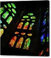 Stained Glass Windows -  Canvas Print