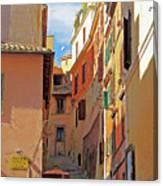 Stair Lane Canvas Print