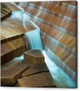 Staircase Fountain Canvas Print