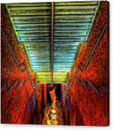 Staircase Into Hell Canvas Print