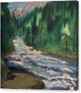 Staircase Rapids Canvas Print