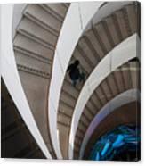Stairs  Bruininks Hall University Of Minnesota Campus Canvas Print