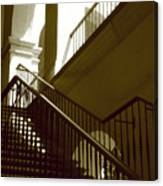 Stairs To 2nd Floor Canvas Print